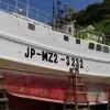漁船文字入れ(日南大堂津港)