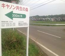 キヤノン共生の森案内(木城町)