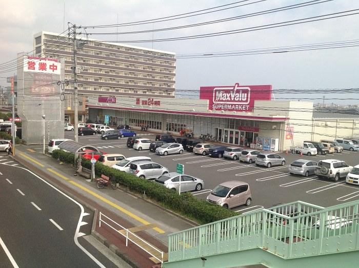 Maxvaluマーキング(延岡市)