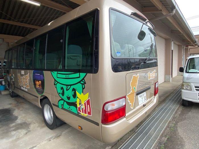 オフィシャルラッピングバス(木城町)